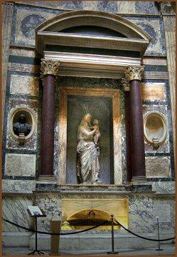 Grab von Raphael im Pantheon, Rom