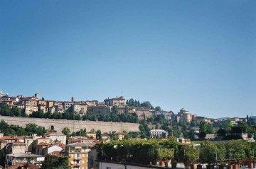 Altstadt Bergamo, Italien