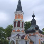 Russisch-orthodoxe Kirch in Franzensbad, Tschechien