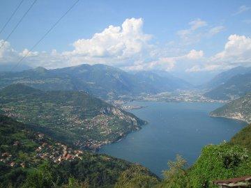 Lago D' Iseo, Italien