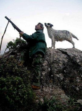 Jäger, Sardinien