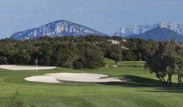 Golfplatz Sardinien, Italien