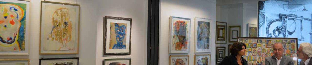 Meral Alma: Ausstellung Grenzenlos bei Conzen in Düsseldorf