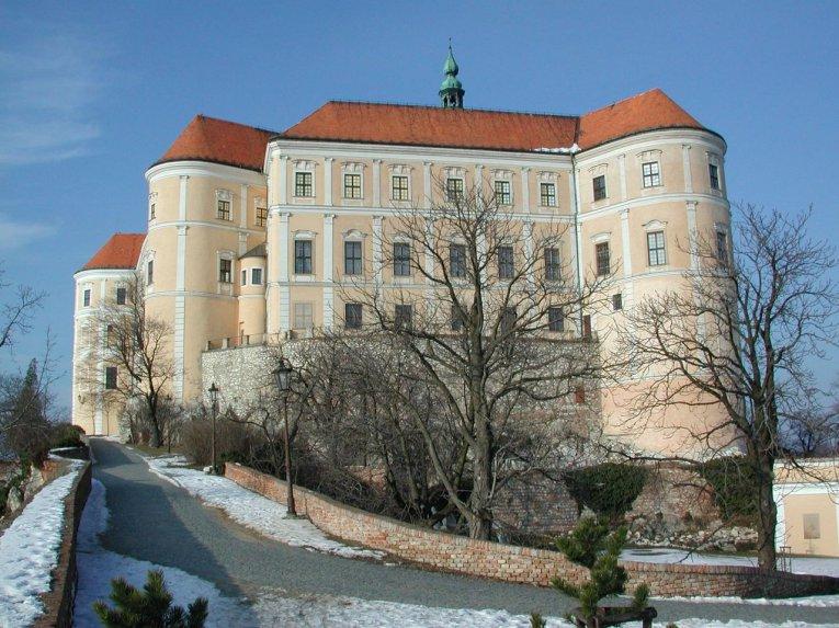 Nikolsburg Schloss, Tschechien