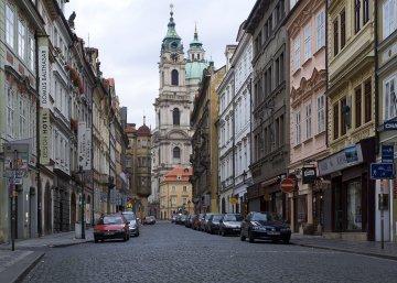 Prag, Kleinseite mit St.-Nicolas-Kirche