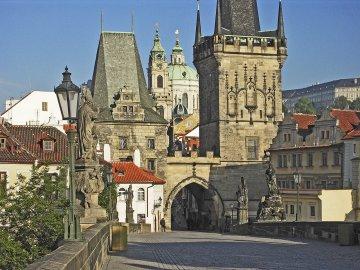Karlsbrücke, Kleiseite, Prag
