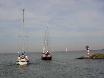 Segeln Ijsselmeer, Holland