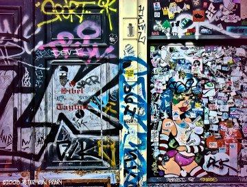 Grafitti, Amsterdam, Holland