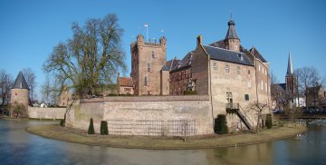 Burg in Gelderland, Holland