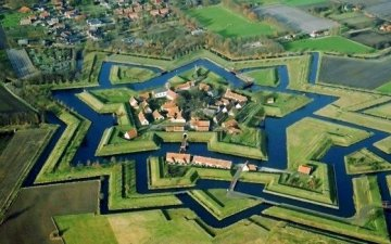 Festung Bourtrange, Holland
