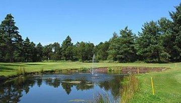 Golfrplatz in Dänemark