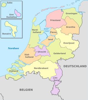 Regionen,Niederlande
