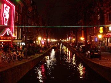Rotlicht Viertel in Amsterdam