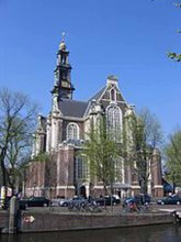 Westkirche Amsterdam Holland