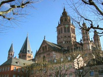 Mainz Dom, Rheinland-Pfalz, Deutschland