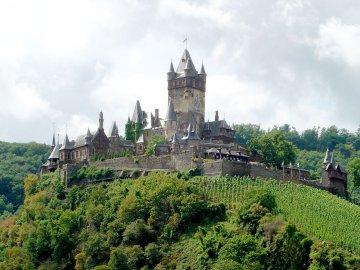 Reichsburg Cochem, Rheinland-Pfalz, Deutschland