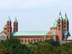 Speyer Kathedrale, Rheinland-Pfalz, Deutschland