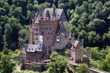 Burg Elz, Rheinland-Pfalz, Deutschland