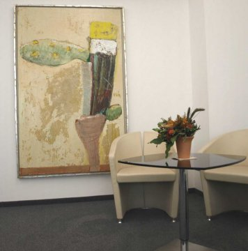 Peter Lindenberg, zeitgenössische Kunst kann man auch mieten