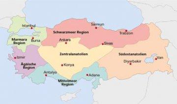 Regionen der Türkei