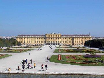 Schloss Schoenbrunn, Wien, Österreich