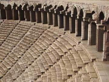 Aspendos Theater, Türkei