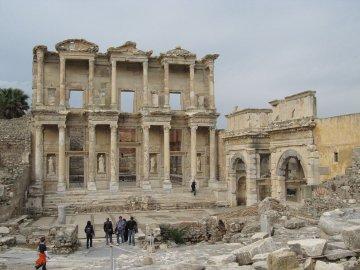 Bibliothek, Ephesos, Türkei