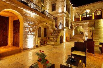 Erenbey Cave Hotel, Göreme, Kappadokien, Türkei