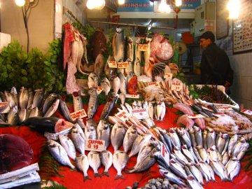 Istanbul, Fischmarkt