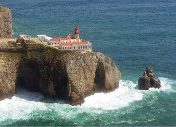 Leuchtturm Cabo Sao Vincente, Portugal