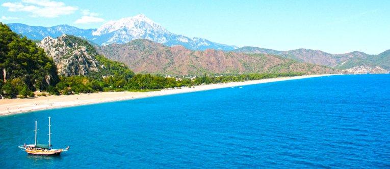 Olympos, Mittelmeerregion, Türkei