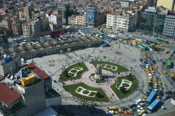 Taksim Platz, Istanbul, Türkei