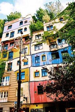 Hundertwasser-Haus, Wien, Österreich