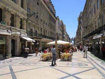 Baixa Rua Augusta, Lissabon