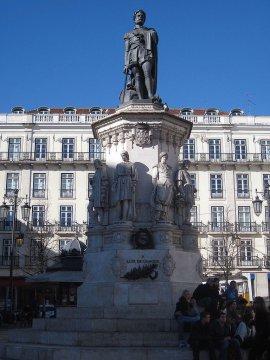 Denkmal Camoes, Lissabon