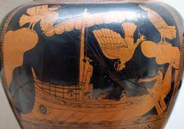 Odysseus und Sirenen