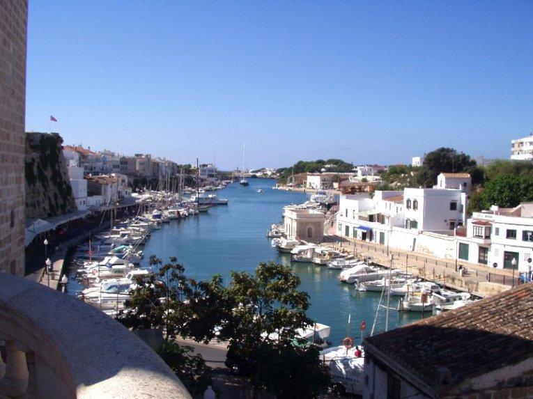 Puert de Ciudadela, Menorca, Spanien