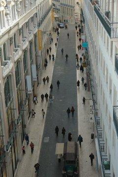 Rua do Carmo, LIssabon