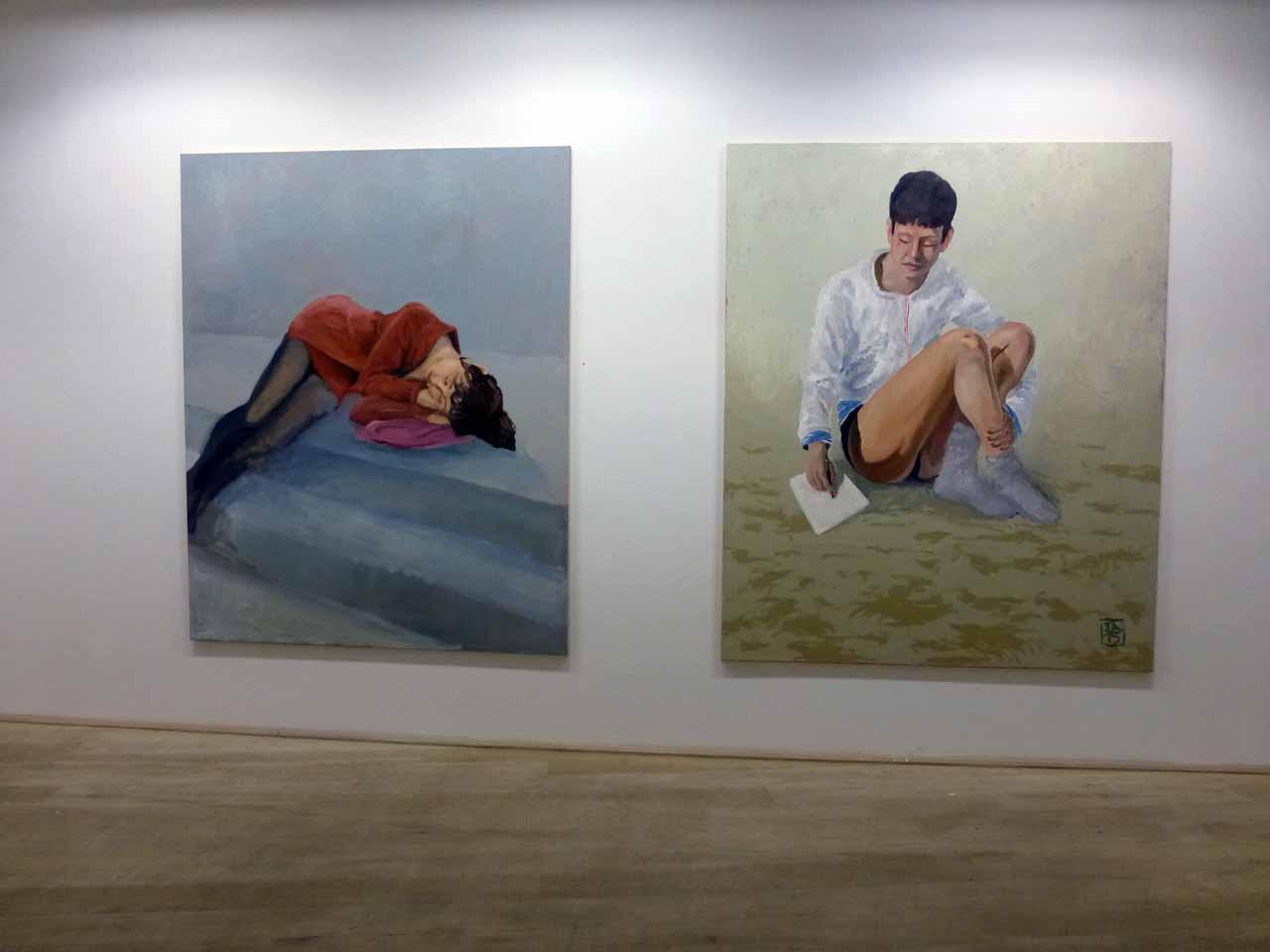 Jonathan  Auth, Ausstellung Gesichtspunkte der Figuration 2015