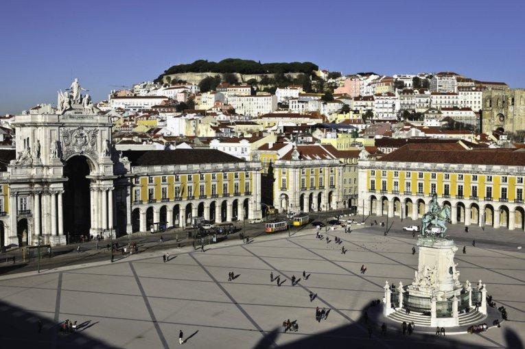 Arco da Rua Augusta, Lissabon