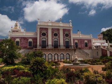 Palast von Estoi, Algarve, Portugal