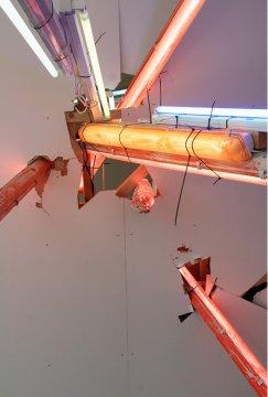 Paul Schwer, Wallpaintings, Installation