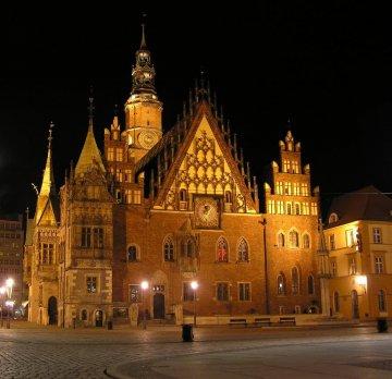 Breslau, Rathaus, Polen