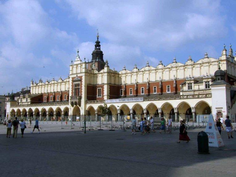 Tuchhallen, Krakau, Polen