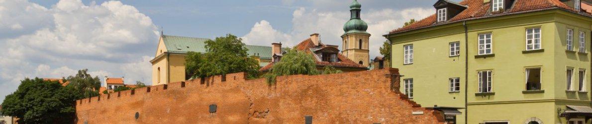 Warschau Altstadt, Polen