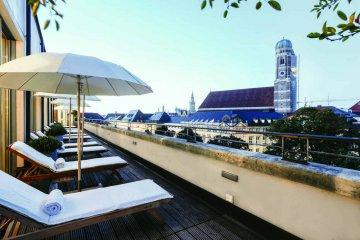 Blue Spa, Hotel Bayerischer Hof, München, Deutschland
