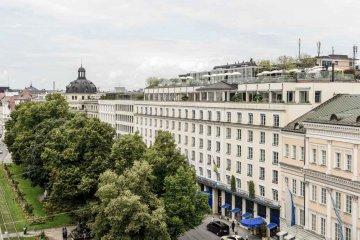 Front, Hotel Bayerischer Hof, München, Deutschland