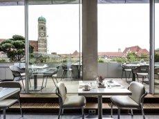 Dachgarten, Hotel Bayerischer Hof, München, Deutschland