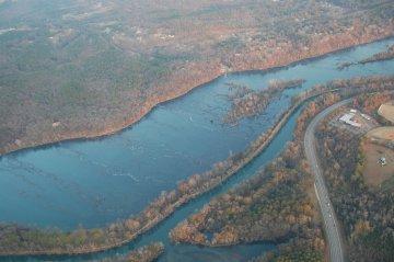 Savannah River, Augusta, Georgia, USA