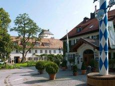 Brauereigasthof Aying, Bayern, Deutschland